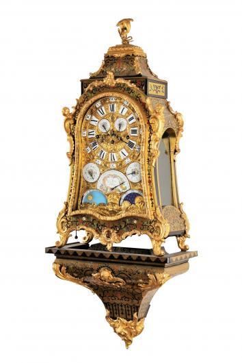 Unikátní barokní hodiny