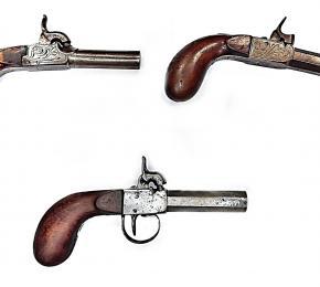 Set cestovních pistolí