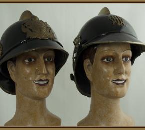Helmy vídeňských hasičů