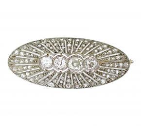 Diamantová brož