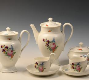 Porcelánový čajový servis