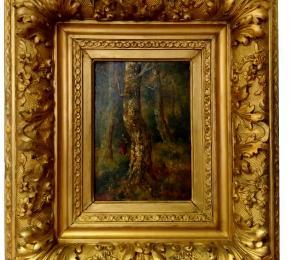 Gourdon -  Žena v lese