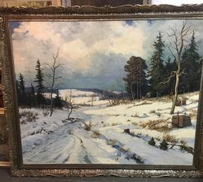 Gustav Porš, Zima